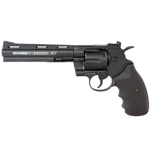 "Swiss Arms 357 6"" Revolver Co2 Pistol .177"