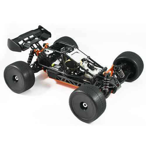Hobao Hyper Cage Truggy Nitro RTR W/Mac 28 - Orange