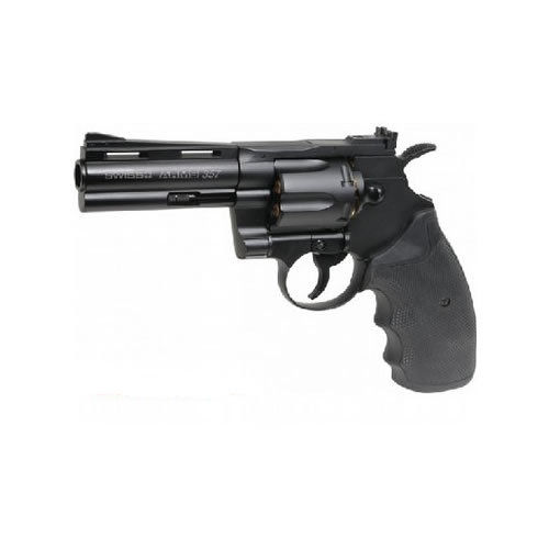 "Swiss Arms 357 4"" Revolver Co2 Pistol .177"