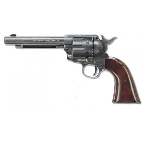 "Colt Single Shot Action Army 45 Antique 5.5"" Peacemaker .177"
