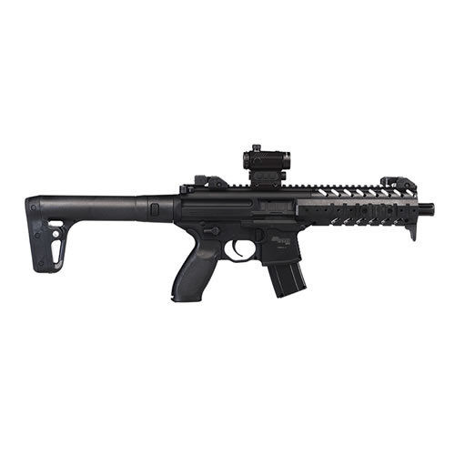 Sig Sauer MPX Air Rifle .177 With Sig 20R Red Dot