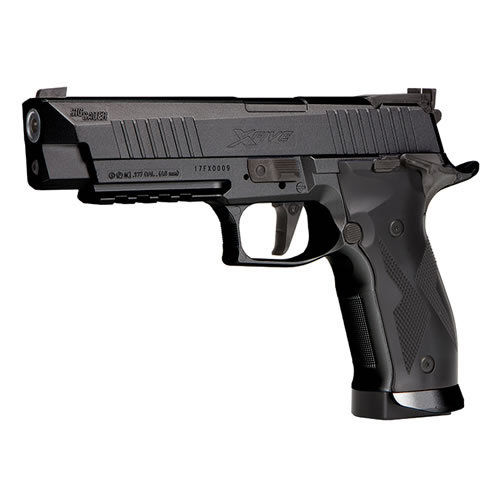 Sig Sauer X-Five Co2 Pistol.177 - Black -  Rifled Barrel