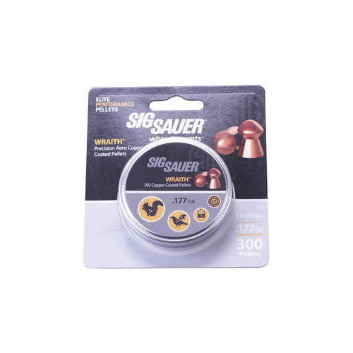 Sig Sauer Wraith Domed - Copper Coated Lead - .177 (300)
