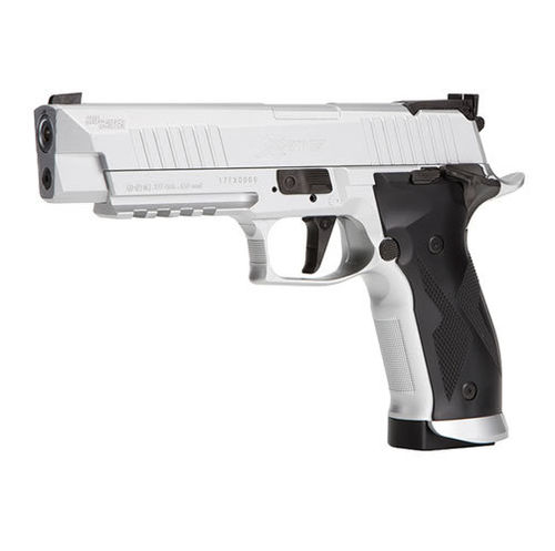Sig Sauer X-Five Co2 Pistol.177 - Silver -  Rifled Barrel
