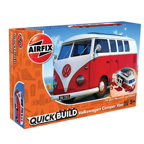 QUICK BUILD VW Camper Van Red