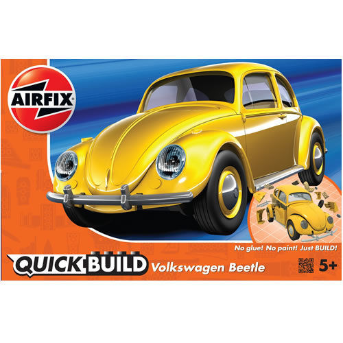 QUICK BUILD VW Beetle Yellow