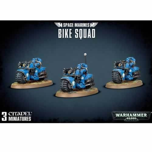 Space Marines Bike Squad