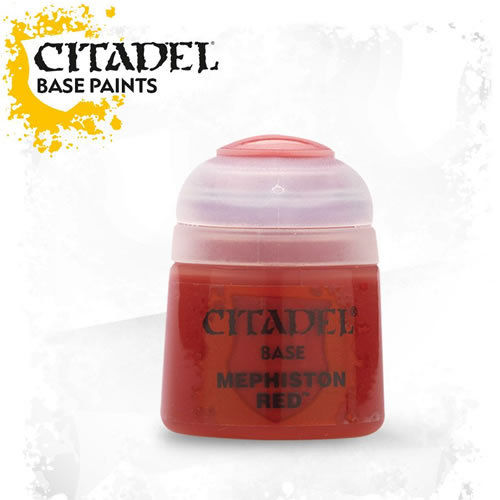 Citadel - Base: Mephiston Red - 12ml