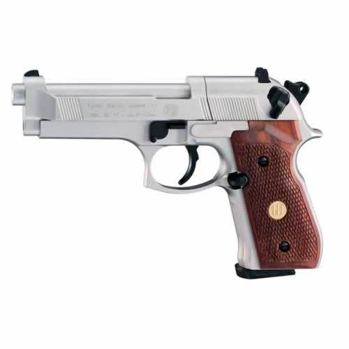 Umarex Beretta Mod.92 FS Nickel Wood Co2 .177