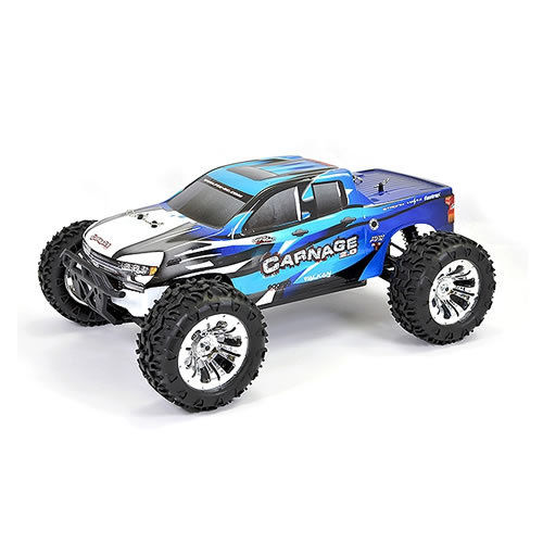 FTX Carnage 2.0 1/10 4WD RTR Brushed Electric Truck - Blue