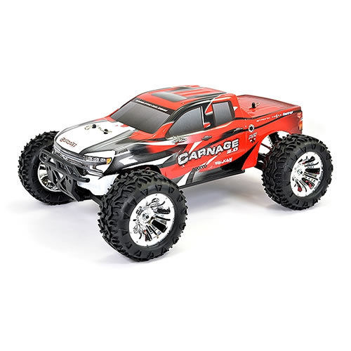 FTX Carnage 2.0 1/10 4WD RTR Brushed Electric Truck - Red