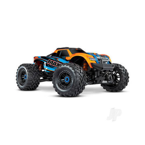 Traxxas Maxx Brushless 1:10 4WD Monster Truck - Orange (+TQi/VXL-4S/TSM/Prographi) - NO Batt or Chg)
