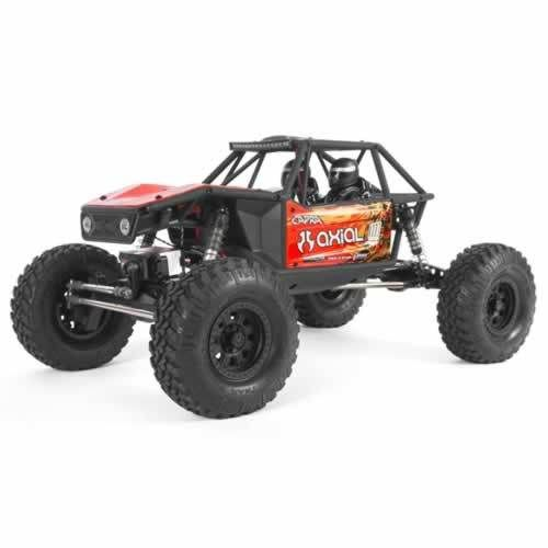 Axial Capra 1.9 Unlimited Trail Buggy 1/10th 4wd RTR -  Red