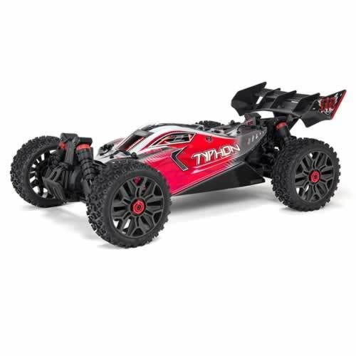 Typhon 4X4 3S BLX Firma SLT3 Speed Buggy RTR - Red