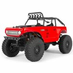Axial SCX24 Deadbolt 1/24th Scale Elec 4WD - RTR - Red
