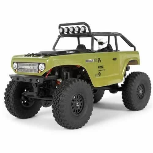 Axial SCX24 Deadbolt 1/24th Scale Elec 4WD - RTR- Green