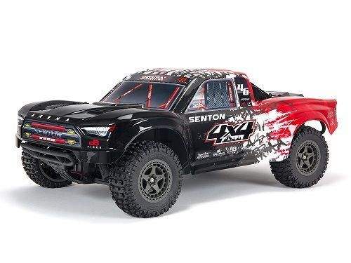 Senton 4X4 3S BLX Firma SLT3 Short Course Truck RTR - Red/Black