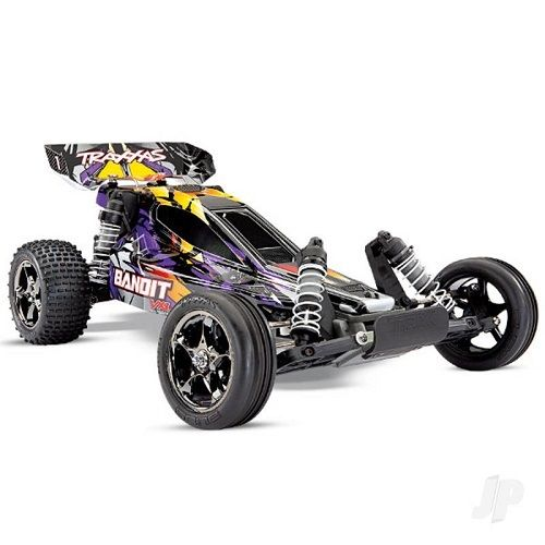 Traxxas Purple Bandit VXL 3S 1:10 2WD Buggy - No Battery/Charger