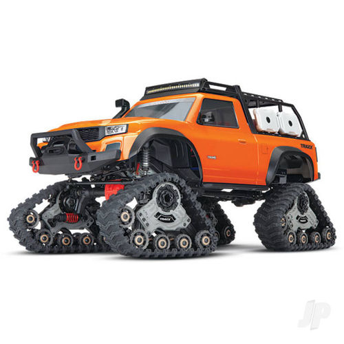 Traxxas Orange TRX-4 Sport 1:10 4X4 All-Terrain Traxx Crawler (+ TQ, XL-5 HV, Titan 550)
