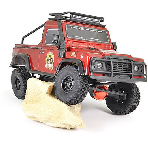 FTX Outback  Ranger XC Pick Up RTR Crawler - 1/16 - Red