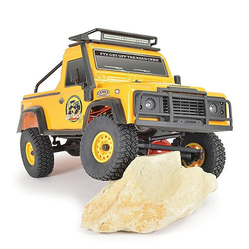FTX Outback  Ranger XC Pick Up RTR Crawler - 1/16 - Yellow