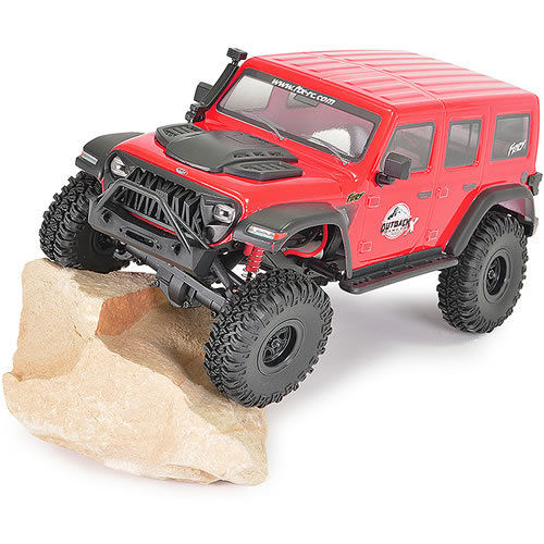 FTX Outback Mini X Fury 1/18 Trail RTR - Red