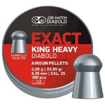 JSB Exact King Heavy .25 - 6.35mm - 33.95gr